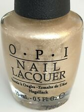 OPI Nail Polish Up Front & Personal (NL B33) Champagne-Gold Shop My Store Today!