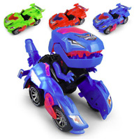 Transforming Dinosaur LED Car With Light Sound Kids Toy Gift 2019 NEW