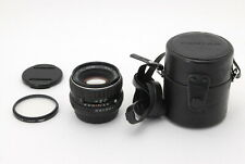 OPTICS N MINT SMC Pentax 55mm f/1.8 K mount, Case, Caps, Lens Filter from Japan