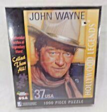 "WHITE MOUNTAIN PUZZLES HOLLYWOOD LEGENDS JOHN WAYNE 1000 PIECE 24"" x 30"" #930S"