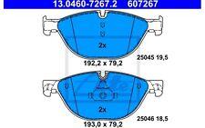 ATE Juego de pastillas freno SEAT TOLEDO BMW Serie 5 13.0460-7267.2