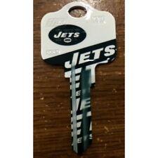 Great Gift Idea NFL NEW YORK JETS KWIKSET KW1, KW10, KW11 UNCUT KEY BLANK