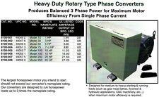 CEDARBERG Heavy Duty Rotary Phase Converter 8100-005