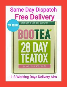 BOOTEA Teatox 28 Day Tea Bags 14 Bedtime Weight Loss Tea FREE DELIVERY Exp 2022
