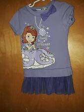 Disney Princess Purple Dress Girls Size 6