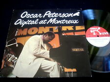 OSCAR PETERSON/DIGITAL AT MONTREUX/PABLO LIVE/JAZZ/GERMAN PRESS
