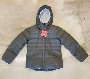 New NORTH FACE down jacket for youths in New Taupe Green size Medium 10/12
