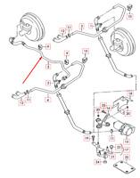 AUDI TT 8N  Brake System Vacuum Hose Pipe RHD 1J2612041L NEW GENUINE
