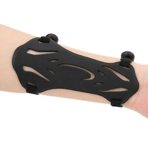 Archery Arm Guard Recurved Bow Compound Bow Competition Universal Gear Black