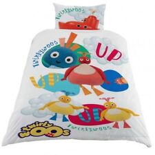 Twirlywoos Single Panel Duvet Cover Pillowcase Bed Set