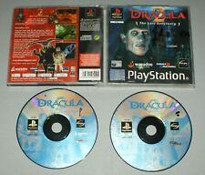 Dracula 2 el último santuario-PS1 Sony Playstation One Juego-PAL *
