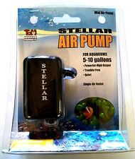 Stellar Mini Aquarium Air Pump | Lot of 5 | Quiet, High Output, Trouble Free