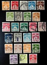 Denmark Stamps Sc 58//95 Used