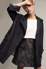 NWT $158.00 Anthropologie Lola Pea Coat By Pilcro Sz. Small