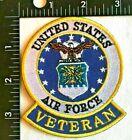 U.S. AIR FORCE VETERAN PATCH (AFZ-1-EE) USAF