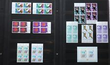 ONU UN United Nations GENEVE 1975 Blocs of 4 stamps 46 to 55 MNH** Complete + 56