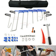 PDR Whale Tail Rods Tool Set Paintless Dent Repair Tools W1-W4 Blue B4 B7-B11