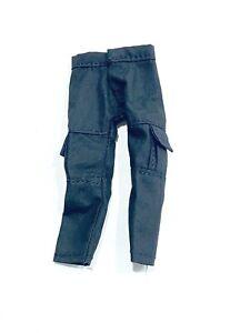 SU-CG-BLK: Black Cargo Pants for Mezco or Marvel Legends Male Body (No Figure)