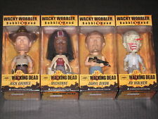 WALKING DEAD WOBBLER BOBBLE HEAD FIGURES RICK DARYL MICHONNE RV ZOMBIE FUNKO AMC