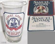 Samuel Adams Boston Lager Beer Coasters