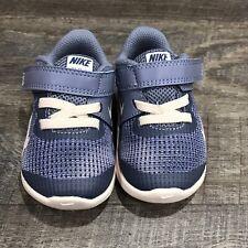 NEW TODDLER Nike FLEX 2018 RN (TDV) RUNNING SHOE Light Blue/White AH3441 4C