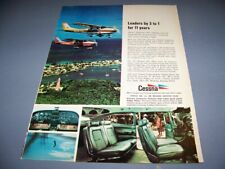 VINTAGE..1968 Cessna 182 Skylane..1-PAGE COLOR SALES AD...RARE! (219T)