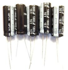 1800uf 16v 105c  LOW ESR Size 25mmx10mm Panasonic EEUFR1C182L  x5pcs