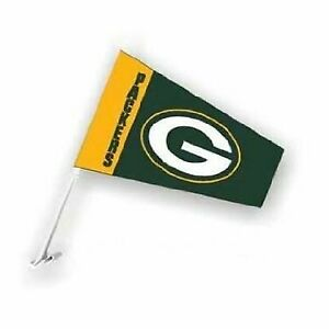 Green Bay Packers Auto Windsock Car Flag