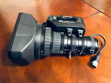 """Fujinon TH16x5.5BRMU 1/3"""" ENG Broadcast Zoom Sharp Lens Used, Great Condition!"""