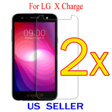2x Clear LCD Screen Protector Guard Cover Shield Film For LG X Charge