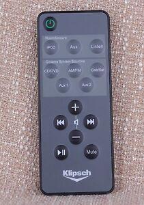 ORIGINAL KLIPSCH RoomGroove/iGroove SXT  iPod Speaker System REMOTE CONTROL