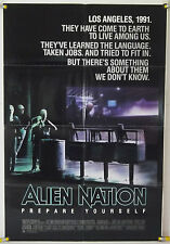 ALIEN NATION FF ORIG 1SH MOVIE POSTER JAMES CAAN TERENCE STAMP SCI-FI (1988)
