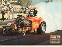 1970 Great Magazine Pic of Don Collins 1932 Bantam Rat Trap