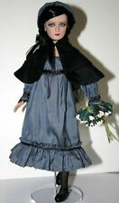 """Moody & Blue Doll Clothes Sewing Pattern 12"""" Marley Tonner"""