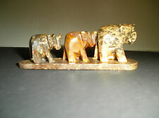 Handmade Elephant Caravan incense burner
