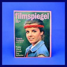 DDR ▶ Filmspiegel 22/1986 Meryl Streep Roy Scheider