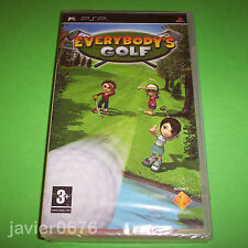 EVERYBODY'S GOLF NUEVO Y PRECINTADO PAL ESPAÑA PLAYSTATION PSP