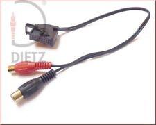 Dietz 1311 AUX-In Cinch Radioadapter Adapter Mercedes Comand 2.0 ohne TV Tuner