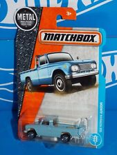 Matchbox 2017 MBX Adventure City Series #7 '62 Nissan Junior Pick Up Light Blue