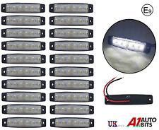 20X 6 LED Lateral Trasero Delantero Marcador Blanco Luces Claras para el carro