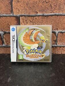Pokemon: HeartGold Version (DS, 2010) - Mint Condition - UK VERSION - SUPER RARE