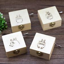 Wooden Music Box Totoro Hand Type Cartoon Dragon Cat Decorative Ornament