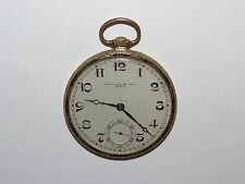 Golay Fils & Stahl 18k Pocket Watch Geneve #34621 (As-Is)