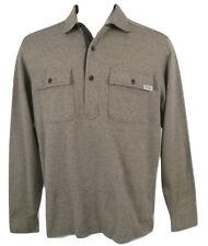 NEW! Polo Ralph Lauren Pullover Shirt (Jacket)!  Large   *Brown Herringbone*