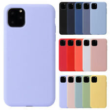 Silicone Case For iPhone 7 8 Plus X XR 11 Pro Max Full Protection Soft TPU Cover