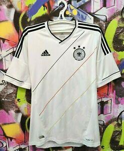 Germany Soccer National Team 2012 2013 Home Football Shirt Jersey Adidas Mens L