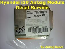 HYUNDAI i10 AIRBAG MODULE RESETTING SERVICE  |  CRASH DATA REMOVAL