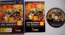 Operation Air Assault 2 (Sony PlayStation 2, 2007) PS2 Game Fighting War