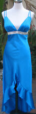 NWT Roberta $140 Evening Prom Formal Cruise Junior Gown Dress size 5 High Low