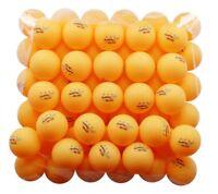 MAPOL 50- Pack Orange 3-star Professional Ping Pong Balls Advanced Training